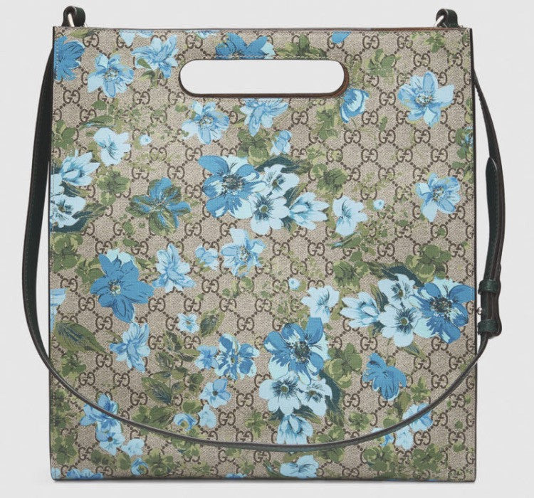 Gucci Linea C Blooms Print XL Tote - Luxury Next Season
