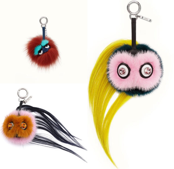 Fendi Mini Bug Charms Luxury Next Season