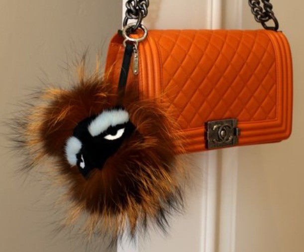 Fendi Orange Bag Charm - Luxury Next Season