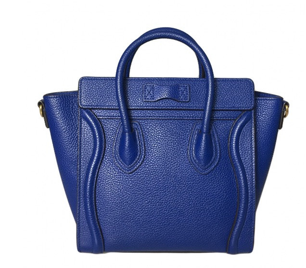 Celine Nano Cobalt Blue Bag Luxury Next Season