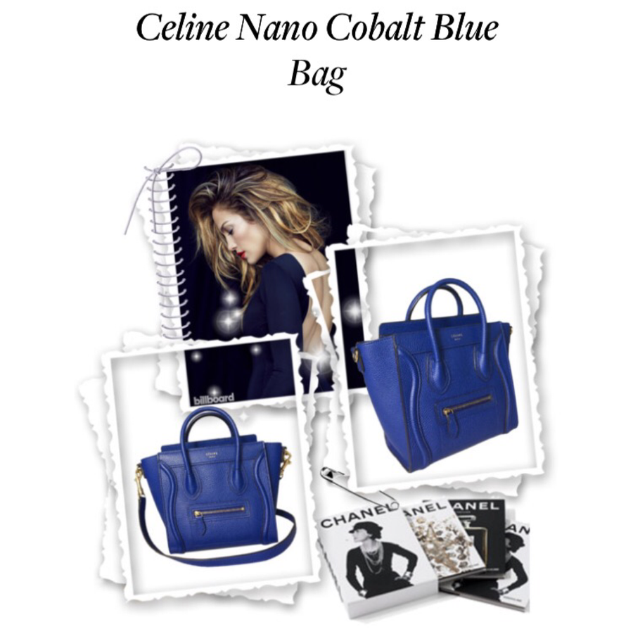 Celine Nano Cobalt Blue Bag - Luxury Next Season