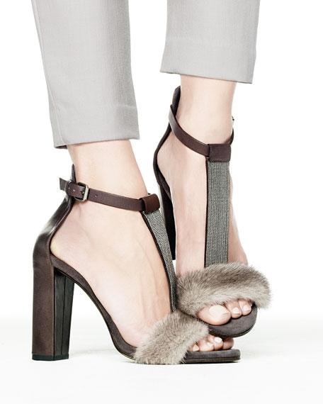 88251049ea75 Brunello Cucinelli Fur Sandals – Luxury Next Season