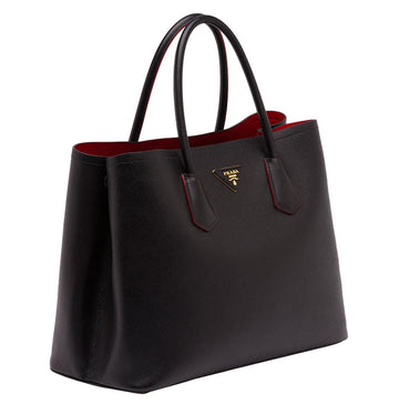 Prada Saffiano Double Bag - Luxury Next Season