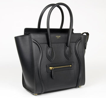 Celine Micro Black Bag - Luxury Next Season
