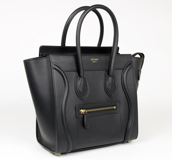 Celine Micro Black Bag