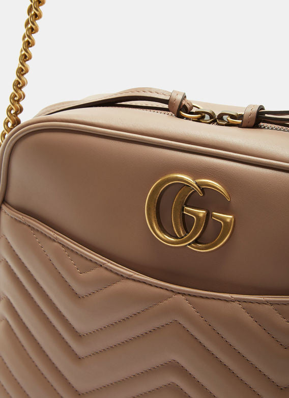 3fc429c96eb Gucci GG Marmont Matelassé Medium Shoulder Bag - Luxury Next Season ...