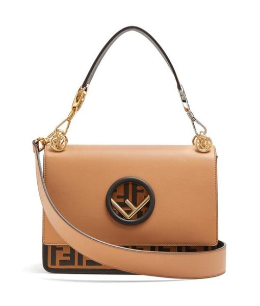 Fendi FF Logo Bottom Shoulder Bag