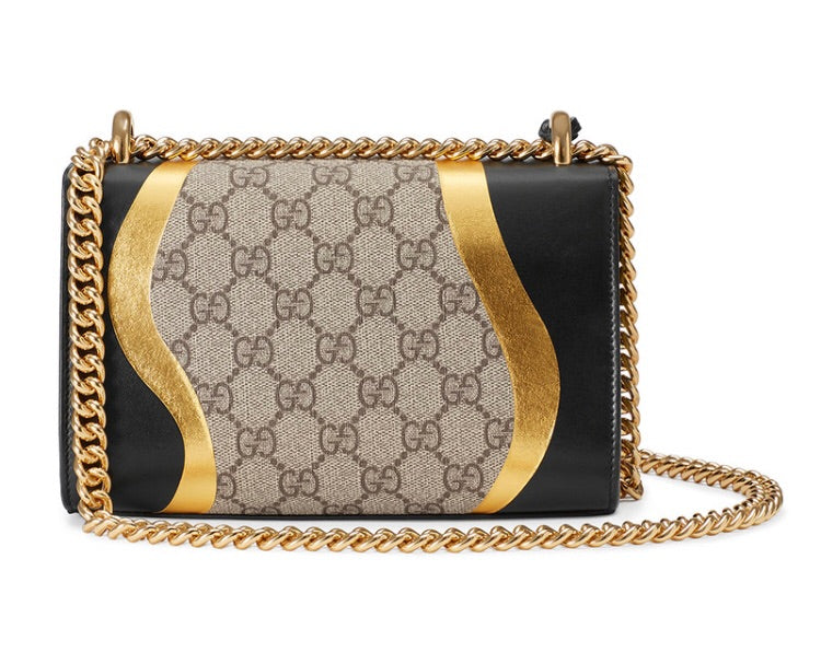 Gucci Padlock GG Supreme Small Bag - Luxury Next Season
