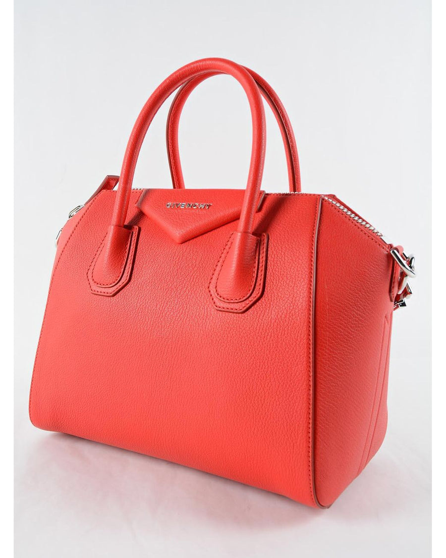 Givenchy Antigona Small Red Bag - Luxury Next Season