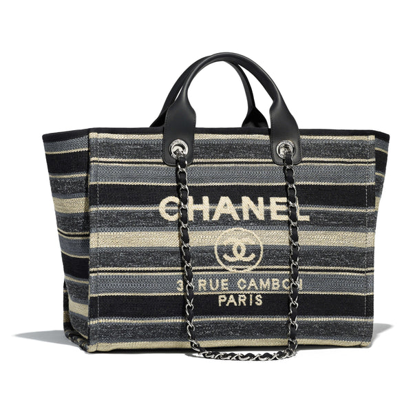 Chanel Devauville Canvas Tote
