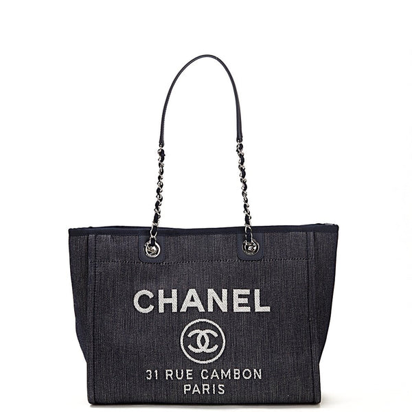 Chanel Deauville Denim Tote