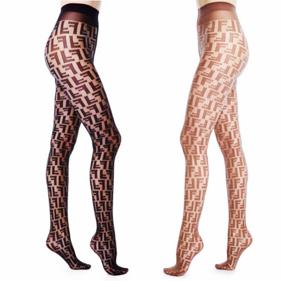 Fendi Double F Forever Tights - Luxury Next Season