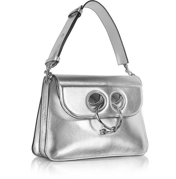 JW Anderson Medium Silver Pierce Bag - Luxury Next Season