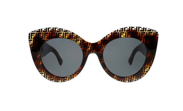 Fendi FF Logo Cat Eye Sunglasses - Luxury Next Season