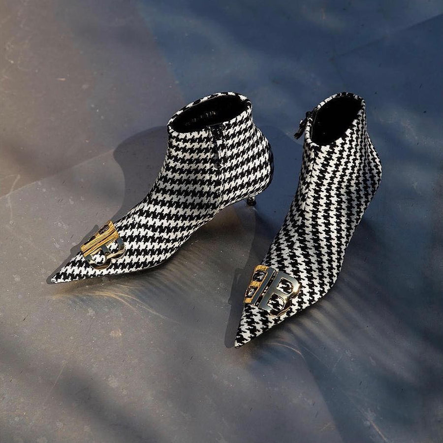 Balenciaga BB Ankle Booties - Luxury Next Season