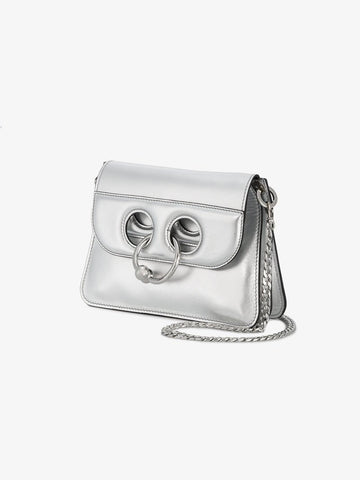 JW Anderson Mini Silver Pierce Bag - Luxury Next Season