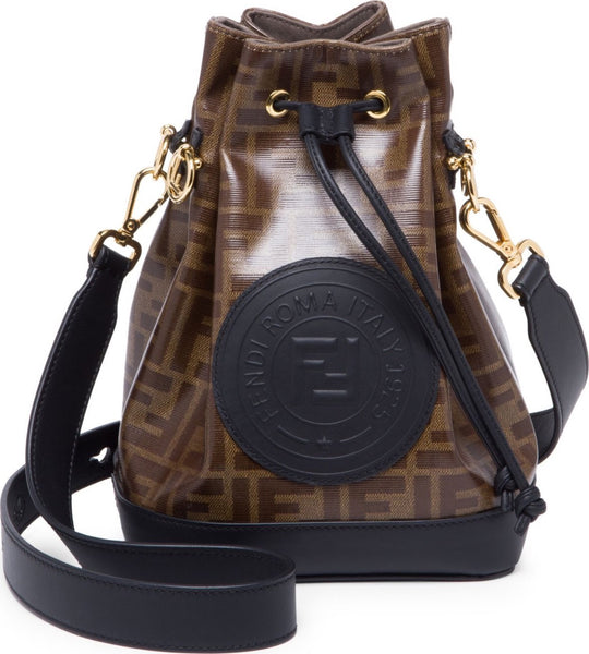 Fendi Logo Bucket Bag