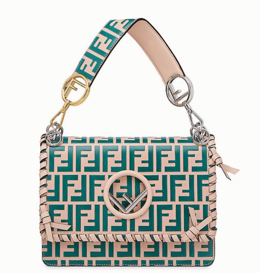 Fendi FF Medium Kan I Bags - Luxury Next Season