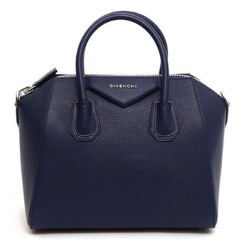 Givenchy Antigona Small Navy Bag - Luxury Next Season