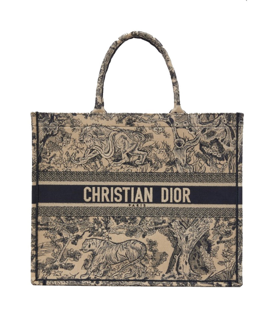 Dior Book Tote- Toile De Jouy - Luxury Next Season