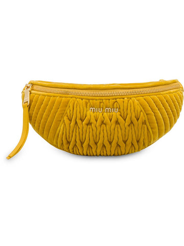 Miu Miu Matelasse Belt Bag - Luxury Next Season