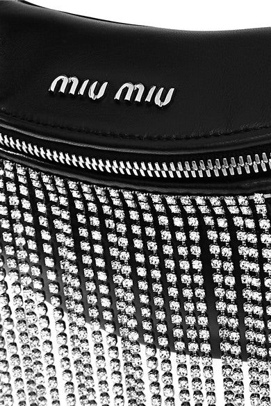 Miu Miu Crystal Belt Bag - Luxury Next Season