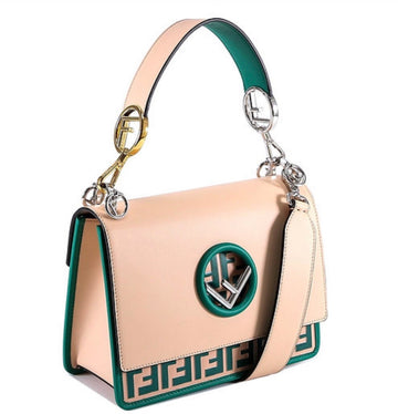 Fendi FF Logo Bottom Shoulder Bag - Luxury Next Season