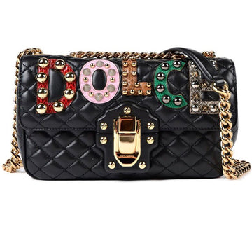 Dolce & Gabbana Lucia Quilted Shoulder Bag - Luxury Next Season