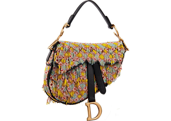 dior saddle bag, dior beaded saddle bag, luxury next season