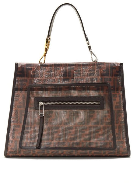 Fendi Runway FF Mesh Bag