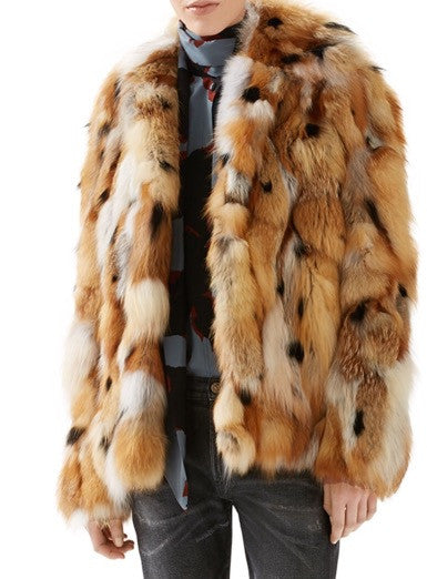 Crystal Fox Coat Luxury Next Season