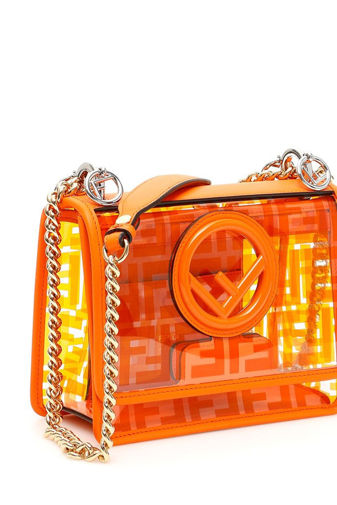 Fendi FF PVC Kan I Bag - Luxury Next Season