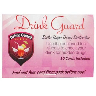 Drink Guard Date Rape Drug Detector - Drink Guard - CNFA Outdoors