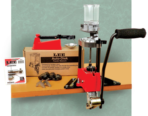 Lee Value 4 Hole Turret Press Kit - Reloading Kit - CNFA Outdoors