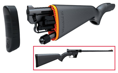 Henry Repeating Arms US Survival Rifle 22LR Take Down, Black Synthetic - Rifle - CNFA Outdoors