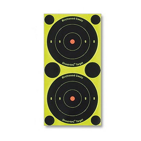 "Birchwood Casey 3"" Shoot-N-C Bullseye Targets - 12 per pack - Targets - CNFA Outdoors"