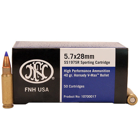 Federal 5.7x28 40gn V-MAX - box of 50 - Rifle Ammunition - CNFA Outdoors