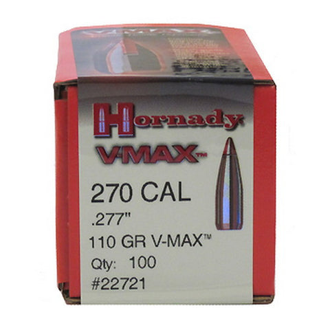 Hornady .270 110 gn VMax - Bullets - CNFA Outdoors