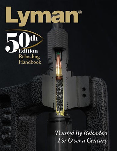 Lyman 50th Edition Reloading Manual - Softcover - Books - CNFA Outdoors