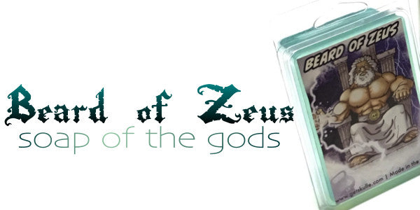 Beard of Zeus goat's milk soap bar