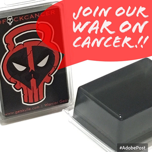 #F*CKCANCER war on cancer soap bar