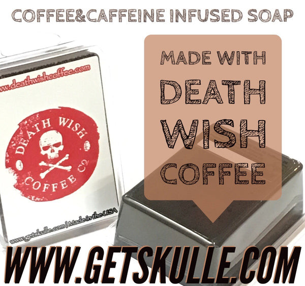 Death Wish Coffee soap bar