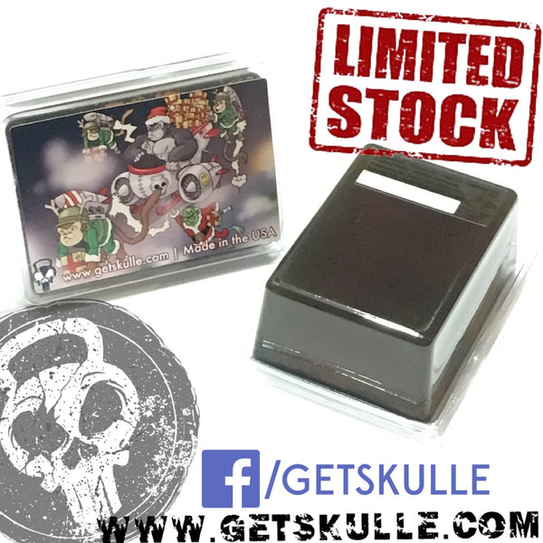 SKULLE Christmas (Death Wish Coffee) peppermint 5oz bar (limited edition)