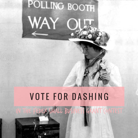 Vote for Dashing in the city in the FedEx Grant Competition