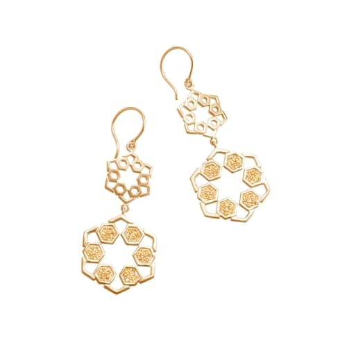 Pave Earring by Cerimani