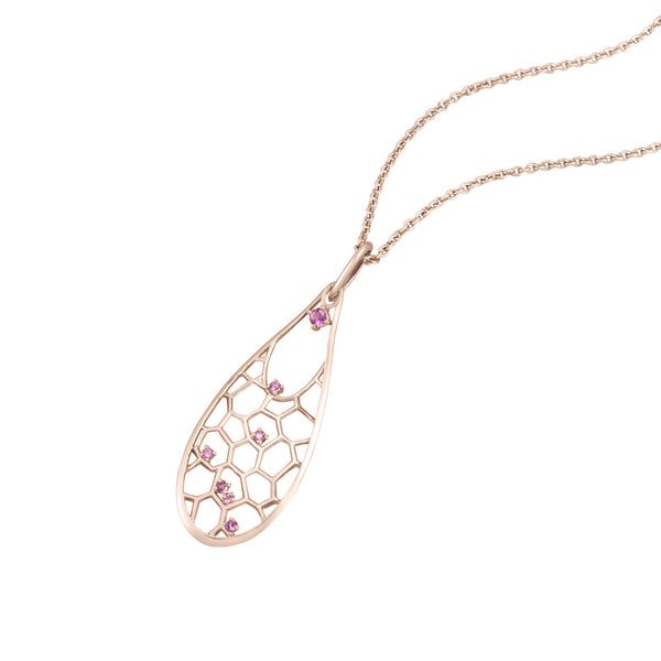 Dream Droplet Necklace by Cerimani