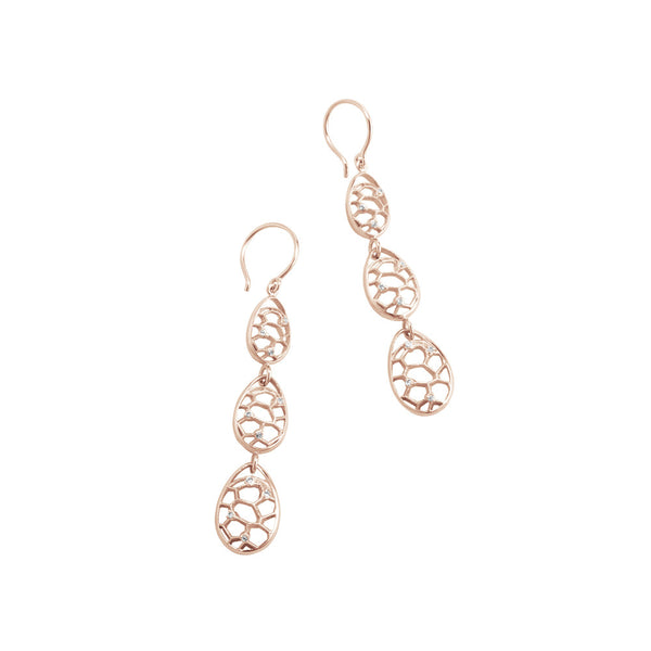 Bollé Egg x3 Diamond Earrings