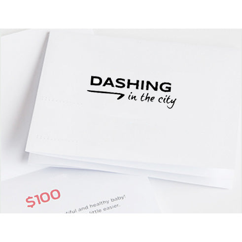 Dashing in the city Gift Card