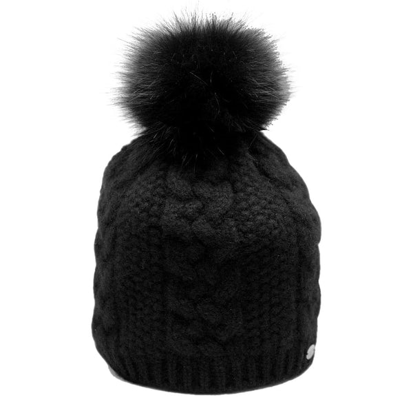 20ea2af5a6d Cable Knit Cashmere   Fur Hat – Dashing in the city