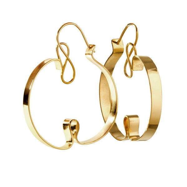 Curly Sue Earrings by Oblik Atelier for Dashing in the city